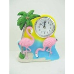 Pink Flamingo Table Clock - 550-006