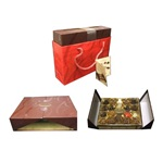 Lyndon Reede Fine Chocolates Holiday Assortment Sampler 1lb 1.6 ounces