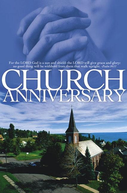 Church Anniversary Programs Templates