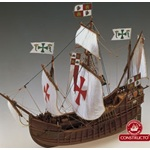 "Constructo 15"" 1/100 Santa Maria Wood Ship Model Kit"