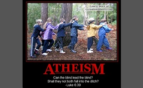 Are atheists making an intellectual fallacy?