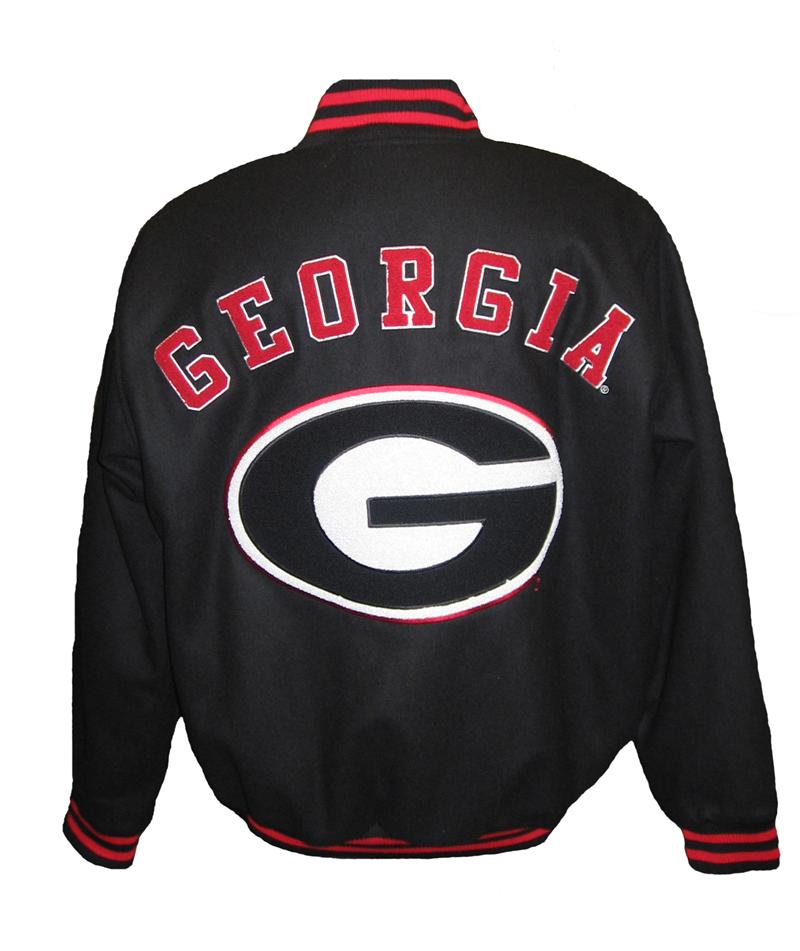 UGA Georgia Bulldogs Letterman Jacket ONLY SIZE LARGE REMAINING ...