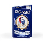 ZIG-ZAG KUTCORNERS FREE BURNING ROLLING PAPERS