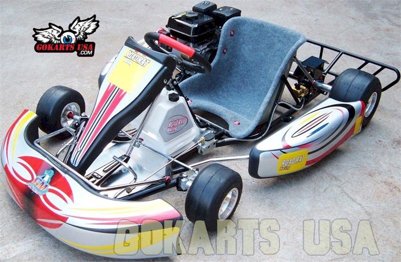 Road Rat Racer TAG Adult Race Go Kart, Electric Start Enlarge Image