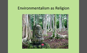 environmentalism as a religion This state of affairs is especially unfortunate since american environmentalism itself, as mark stoll's fascinating new book, inherit the holy mountain: religion and the rise of american environmentalism, makes clear, owes as much to religious and artistic thought as.