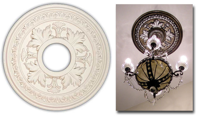 Two piece ceiling medallions in Ceiling Medallions - Compare