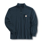 Carhartt K246 Work-Dry Quarter-Zip Mock Turtleneck