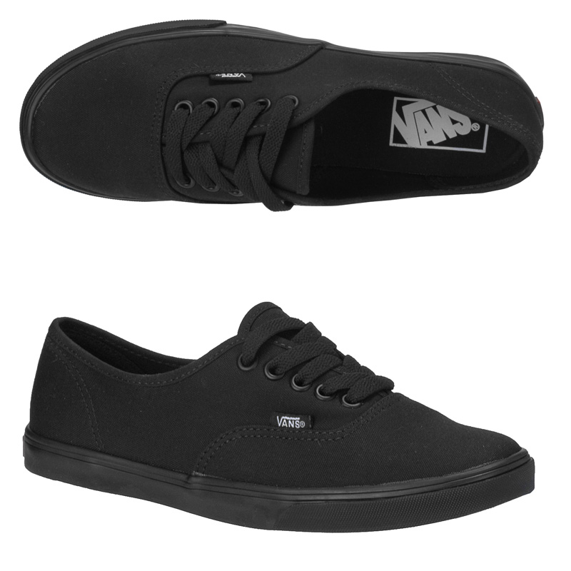 Black Vans For Girls