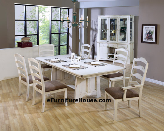 Impressive Whitewashed Dining Room Set 550 x 440 · 78 kB · jpeg