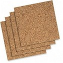 QRT Cork Tile Or Roll Bulletin Board (102Q)