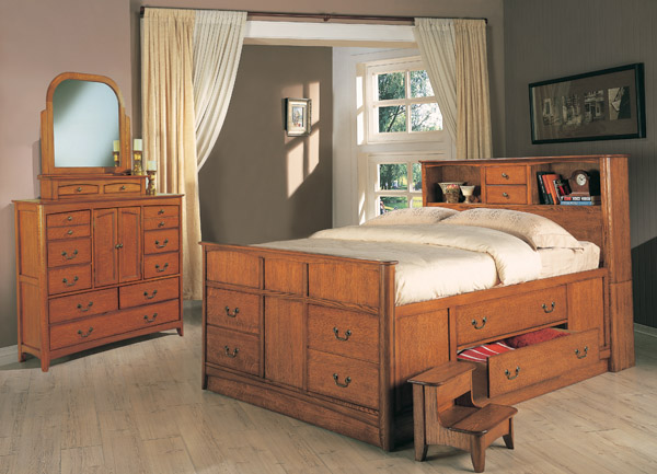 Diy Queen Captains Bed With Drawers Plans Plans Free