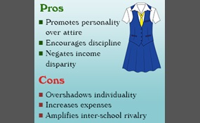 essay on why students should not wear school uniforms However, to my mind, students should not be forced to wear uniforms, as it can negatively affect their personalities wearing school uniforms is a significant obstacle for a child's self-expression.