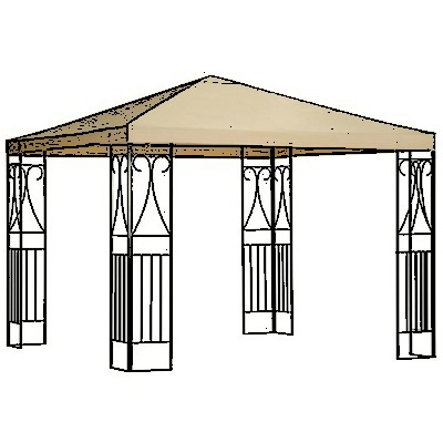 Metal Gazebo Canopies - Buzzle