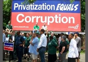 Privatization will lead to less corruption