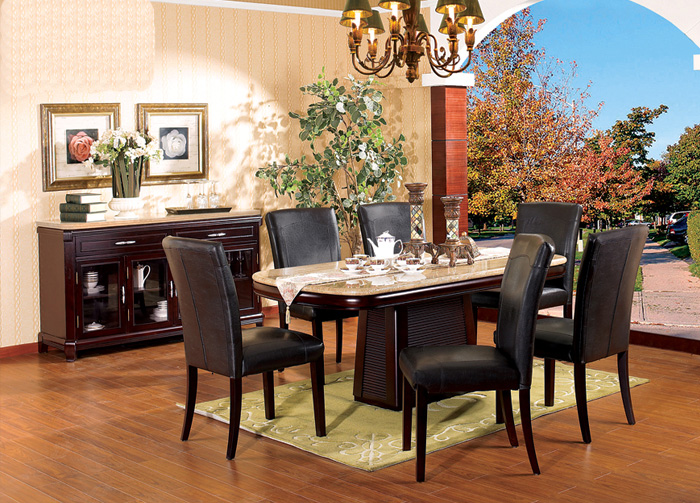 Impressive Rectangular Marble Dining Table Set 700 x 503 · 211 kB · jpeg