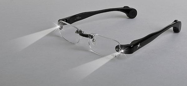 Lighted Glasses: Enlighted Illuminated Clothing