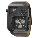 Diesel DZ1319 Bad Ass Black/Brown Compass