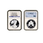 2007 American Silver Eagle Proof coin