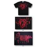 Korn Red Hand Prints Tee