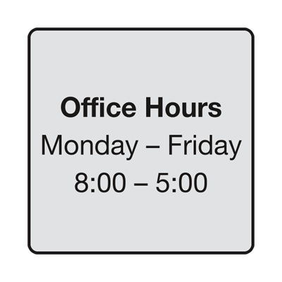 Office hours template free zrom office hours template free cheaphphosting Image collections