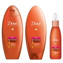 Dove Shampoos and Conditioners