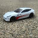 Hot Wheels Ferrari Ff Awd Sports Car (white) Diecast Model Scale 1:64 (loose)