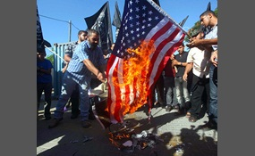 The flag burning debate continues essay