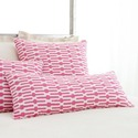 Pine Cone Hill Bright Stuff Links Double Boudoir Decorative Pillow in Pink DPLKPKDB