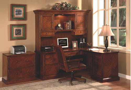 Shaped Desk With Hutch l Shape Desk Hutch Home Office