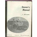 Oakes Mfg L-600 Rounder skid steer loader manuals