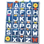 ABC School Cloth Wallhanging - Wall Mounted Fabric Alphabet Playset