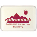Ranger Industries Ranger Industries Adirondack Earthtones Dye Ink Pad: Cranberry (ASP891)