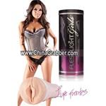 Fleshlight Girls Vibrating Vagina - Lupe Fuentes Mini Lotus - SX-T329