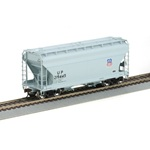 Athearn ATH95960 RTR ACF 2970 Covered Hopper, UP #219445 , HO