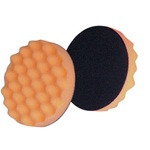 3M Company 2648 Finesse-it Buffing Pad, Orange Foam, 3-1/4""