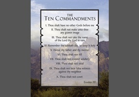 should the ten commandments be posted in public schools Should the ten commandments be posted in public schools october 1st, 1997—a 16-year-old in pearl mississippi is accused of going to pearl high school.
