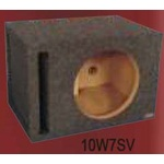 "Atrend 10SQV Single 10"" Vented Subwoofer Box 1.42 Cu Ft"