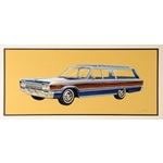 1965 Dodge Polara Station Wagon painting by Jim Fetter
