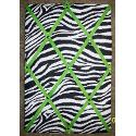Zebra With Lime Green French Memo Board (10x15)