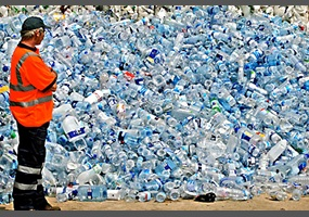 botellas plastico oceano