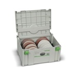 "Festool 6"" Abrasive Assortment Systainer"