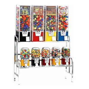 9 machine capsule gum candy