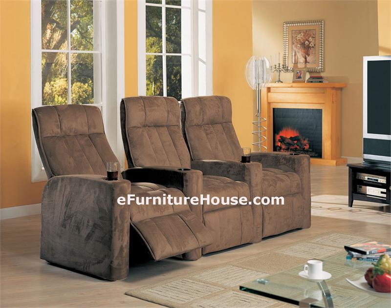 home theater seating microfiber inserts