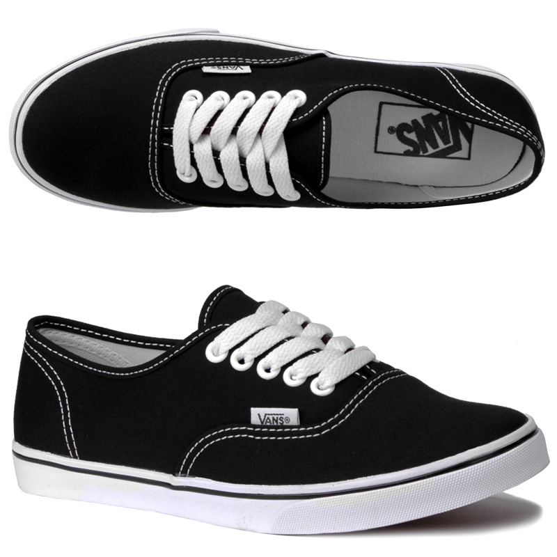 vans black for girls