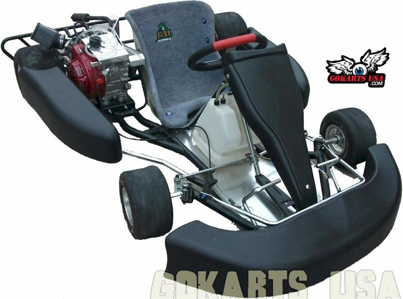 Road Rat Racer XR AKRA Adult Race Go Kart. AKRA Racing Engine package.