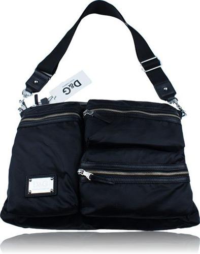 D&G Dolce & Gabbana nylon zippers messenger bag Enlarge Image