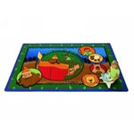 David and Goliath Literacy Rug - Rectangle