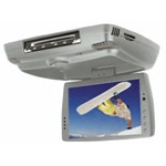 MYRON & DAVIS ADM-102SH 10.2 Wide Screen TFT/LCD Monitor w/DVD Player/Multi-Media Card Reader - Shale