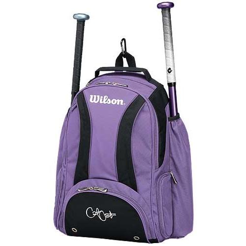 Wilson Cat Osterman Backpack Purple