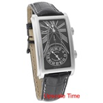 Cuervo Y Sobrinos Prominente Dual Time Men's Luxury Watch 1124.1NG